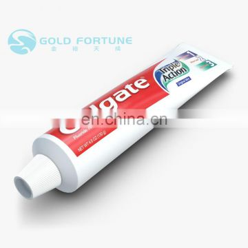 Gold Fortune professional laminated tube toothpaste from laminated tube manufacturers
