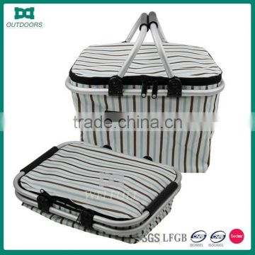 600D Oxford Folding Camping Picnic Insulated Basket