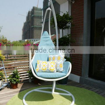Hanging Egg Chair With Stand Rattan Indoor Swing