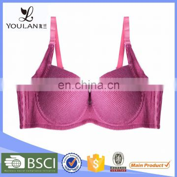 New Arrival Comfortable Plus Size Hand Feel Adult Sexy School Girl Bra