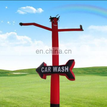 inflatable mini Desktop car Wash Air Dancer Man With Letters