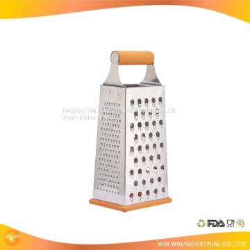 Top supplier good design 4 side industrial mini manual stainless steel rotary cheese grater