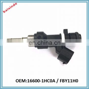 Baixinde Auto parts Fuel Injection FBY11H0 16600-1HC0A For Micra K13 1.2 12V