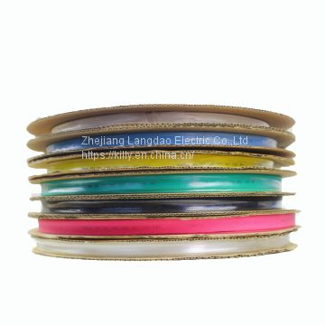 5mm Electric power cable used high standard PE material 1kv heat shrink tube
