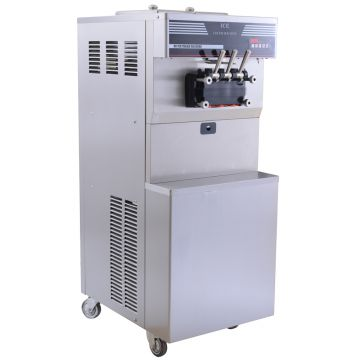 Numerical Speed Control Industrial Ice Cream Machine Good Appearance