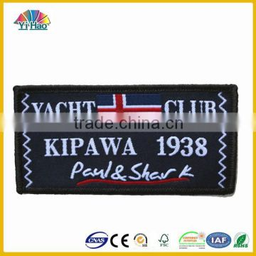 2015 Hot sales woven labels,high quality woven garment label,high density woven clothing label