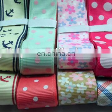 2.5cm print ribbon for DIY headwear