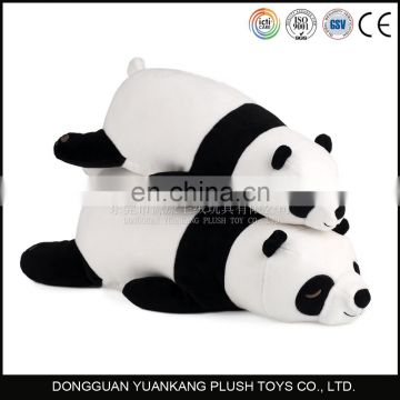2016 China manufacturer panda bear teddy stuffed animal plush toy