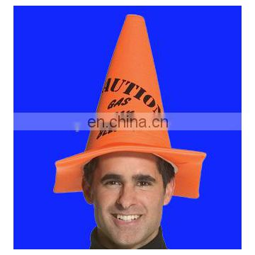 Hot sell Unisex adult traffic road cone hat funny hat