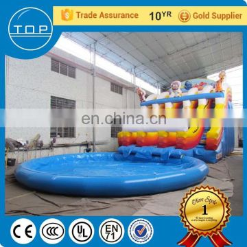 TOP big slides for sale inflatable slip n fiberglass water slide with high quality