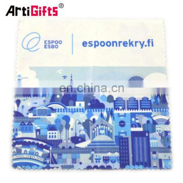 Custom print microfiber lens cleaning cloth