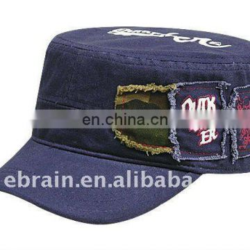 Blue Jean Army Cap
