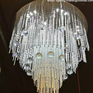 good quality ceiling Chandelier , LED crystal lamp with bluetooth MP3