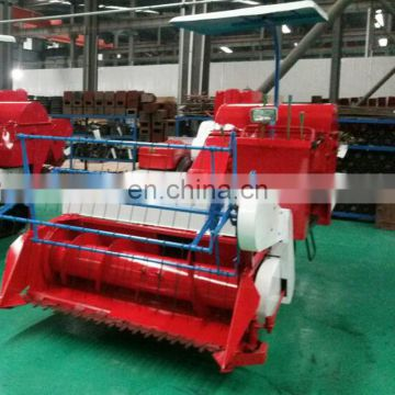 mini wheat /rice harvester /reaper /thresher for mud field