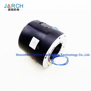 4 Passage shaft mounting pneumatic rotary joint slip ring