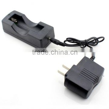 100-240v 3.5mm 18650 li-ion battery charger 3.7v + 18650 battery case
