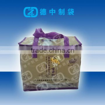 Full color printed Non woven cooler bag for frozen sea foods packaging                                                                         Quality Choice