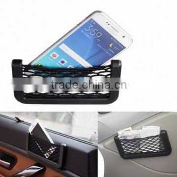 Car Auto Storage Mesh Nets / car sticker phone pocket / phone storage net