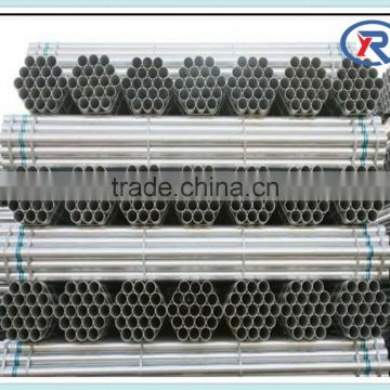 alibaba express hot dipped galvanized welded round steel pipe/tube
