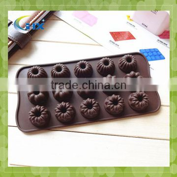 Customized creative 2016 new design silicone ice cube tray