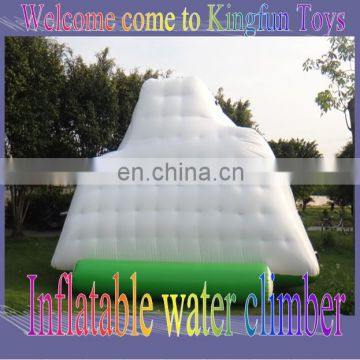 hot inflatable water park equipment, inflatable water iceburg