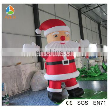 kind face and tall santa claus inflatable, giant inflatable santa claus