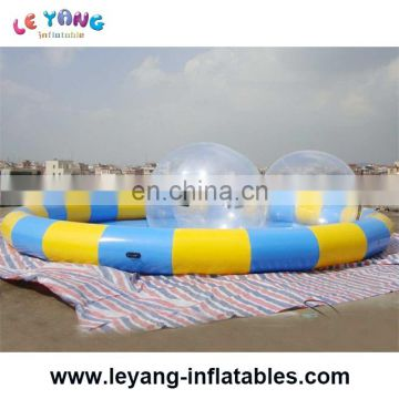 circular / round shape Gaint adult swimming pond inflatable swimming pool for summer