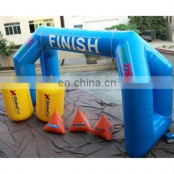 inflatable air arch, inflatable arch, airtight buoy