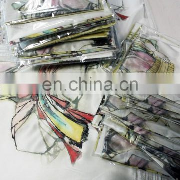 Professional OEM Design Silk Scarf Finishing Factory