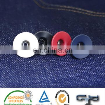Colorful metal hollow jeans button painting button