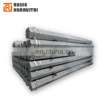 1.5 inch round fence posts galvanized pipe support