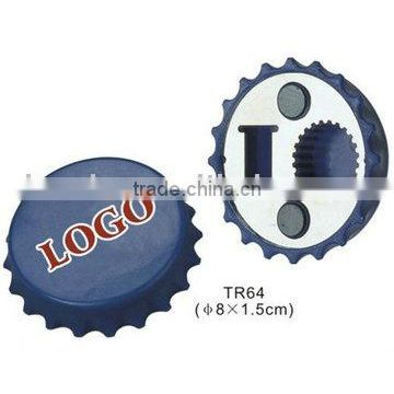 Promotional customized logo beer cap bottle opener
