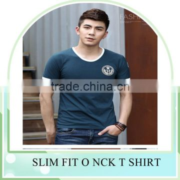 bulksale Newest design Mens 100% cotton washable T-shirt printed customized