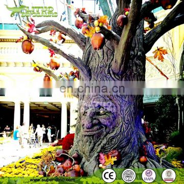 Amusement Theme Park Animatronic Talking Tree for Landscape