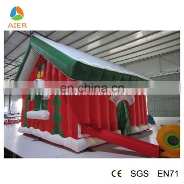 Giant Christmas Adversting Decorative Inflatable Bounce House