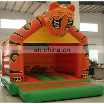 Inflatable tiger bounce, inflatable tiger jumper, inflatable clown bounce castle,inflatable jumper castle, jump bed game,