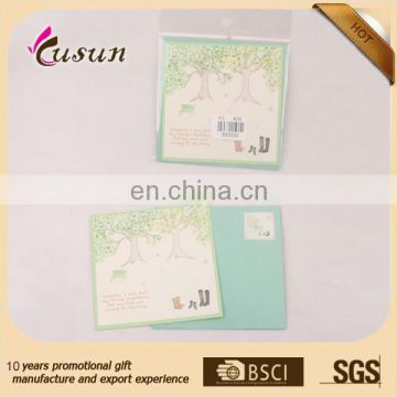 Promotional Logo Printed blessing card