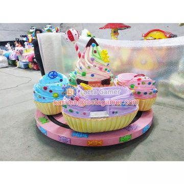 Zhongshan amusement playground mini Carousel Sweetland kiddie rides for sale