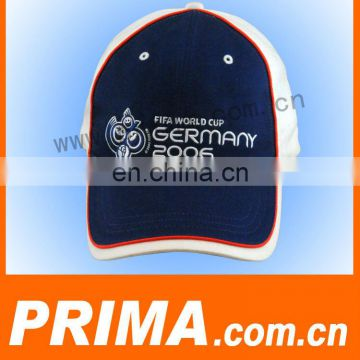 2015 hot selling custom 100% cotton embroidery sports caps