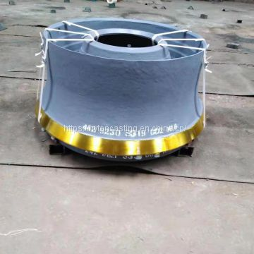 Mantle And Concave Suit Sandvik Single Cylinder Cone Crusher CS430 Spare Parts