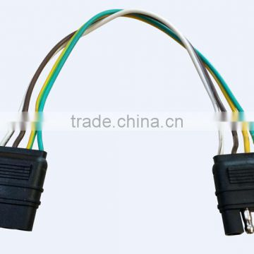 s10062 4way flat wire harness trailer light with male and female pulg of  new products from china suppliers - 143564298