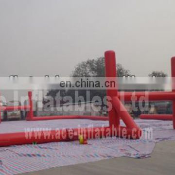 Commercial customized cheap indoor&outdoor Inflatable sports game-football field