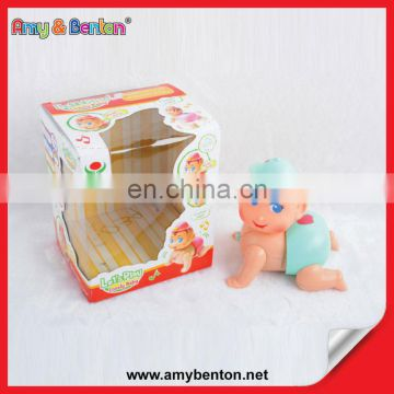 New Fashion Baby Doll Most Popular Electric Small Plastic Doll