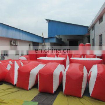 Inflatable paintball bunkers inflatable paintball shooting target