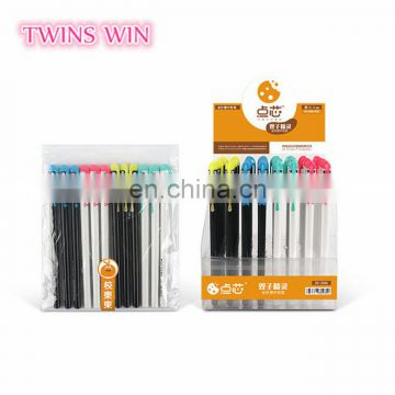 Factory price kids stationery items from china .Alibaba website cheapest and newest free samples cartoon plastic ink gel pen