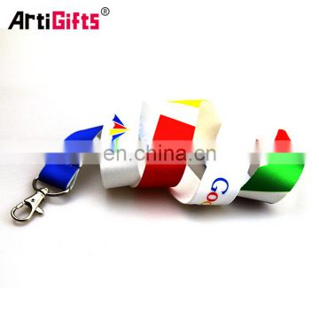 Promotional Lanyard Free Sample China Wholesale,Cheap Custom Printing Poyester Neck Lanyard With Logo