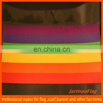 outdoor printed hanging rainbow flags