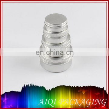 round screw lid aluminum tin