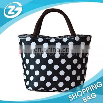 Portable Waterproof Picnic Dot Thermal Cooler For Girls/ Woman