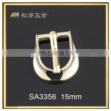 belt buckles metal Antique brass Luxury strap belt pin metal Silver plated Top class pin buckle with loop bulk zinc metal-SA3356